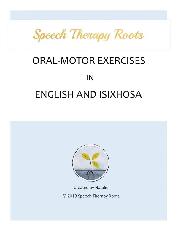 Oral-Motor Exercises in Xhosa